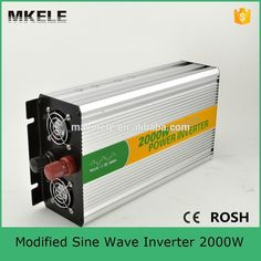 97.76$  Watch now - http://alihyp.worldwells.pw/go.php?t=32506406819 - MKM2000-122G convert modified sine 12v 220/230v power inverter 2000w tbe inverter with inverter fan built-in the fuse