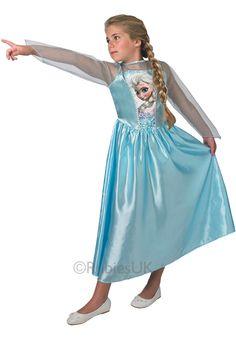 Tween Elsa Classic Costume Disney Frozen Fancy Dress - Children Fantasy Costumes at Escapade™ UK - Escapade Fancy Dress on Twitter: @Escapade_UK