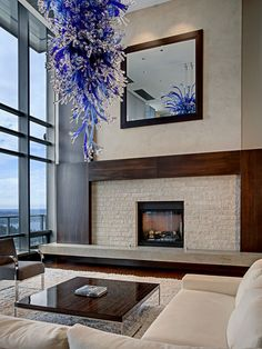 Modern Modern Mantle Design, Pictures, Remodel, Decor and Ideas - page 3