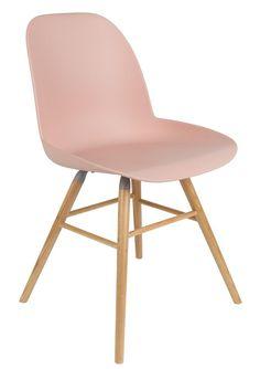 Zuiver - Albert Kuip Chair Eetkamerstoel - Roze