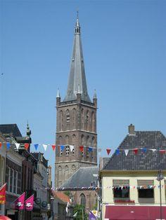 Toren Steenwijk 06 - Lijst van watertorens in Nederland - Wikipedia Netherlands, Holland, Cathedral, Van, Building, Places, Towers, Travel, Tours