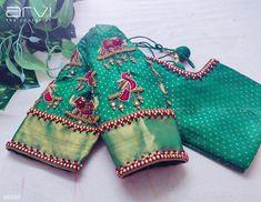 Blouse Back Neck Designs, Kids Blouse Designs, Simple Blouse Designs, Stylish Blouse Design, Hand Designs, Wedding Saree Blouse Designs, Half Saree Designs, Pattu Saree Blouse Designs, Blouse Designs Silk