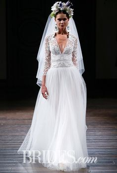 Naeem Khan Wedding Dresses - Fall 2016 - Bridal Runway Shows - Brides.com | Brides