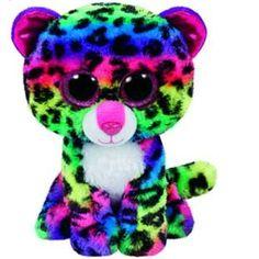 b61da02b1ee Ty Beanie Boo Plush - Dotty The Leopard 15cm