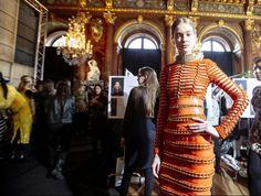 Balmain - Paris Fashion Week - Otoño Invierno 2014/2015 - Fashion Backstage