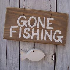 Gone Fishing Quotes Diy Fishing Bait, Gone Fishing Sign, Fishing Signs, Fishing Quotes, Ice Fishing, Fishing Hole, Going Fishing, Ice Castles, Concrete Floors