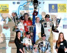 podium Rally Islas Canarias 2014