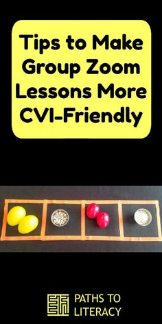 Tips to make group Zoom lessons more CVI-friendly for children with cortical visual impairment Visual Impairment, Home Schooling, Blind, Distance, Paths, Literacy, Preschool, English, Student