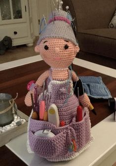 Crochet Rabbit, Crochet Dolls, Pin Cushions, Knitting Projects, Teddy Bear, Toys, Animals, Amigurumi Doll, Crocheting