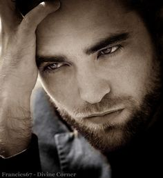 All I can say is I am thankful to Robert Pattinson's parents for making such a beautiful man. :)