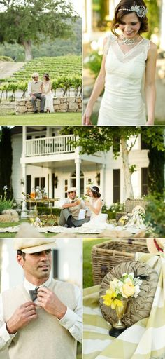 Great Gatsby-Inspired Shoot by Mark Padgett Wedding Design, Panacea Event Floral…