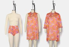 Hey, I found this really awesome Etsy listing at https://www.etsy.com/listing/533702966/vintage-60s-3pc-lingerie-set-1960s