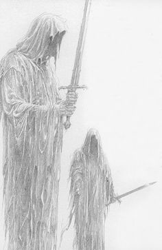 Now few could withstand even one of these fell creatures, and none could withstand them when gathered together under their terrible captain, The Lord of Morgul. Yet this weakness they had for Sauron's present purpose: so great was the terror that went with them (even invisible and unclad) that their coming forth might soon be perceived and their mission guessed by the Wise.