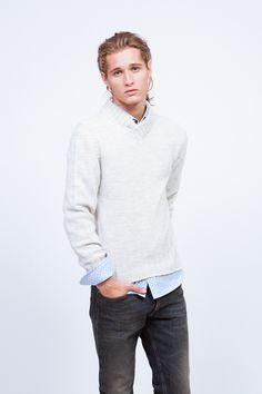 Jersey de punto #EduardoRivera. #fashionmen #menswear #cute #stylish