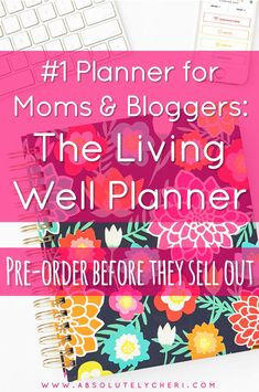 This is the best planner for mom's and bloggers. Pre-order before August 31 to get the best price of the year. The Living Well Planner is expected to sell out so reserve yours now! I already bought two :) #planner #planning #livingwellplanner #lwsl #livingwellspendingless #livingwellcommunity Best Planners For Moms, Business Planner, Make Money Blogging, Blogging Ideas, Blog Planner, Online Entrepreneur, Blogging For Beginners, August 31, How To Start A Blog