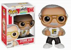 san diego comic con 2014 exclusives | San Diego Comic-Con 2014 Exclusive Stan Lee Pop! Vinyl Figure by Funko