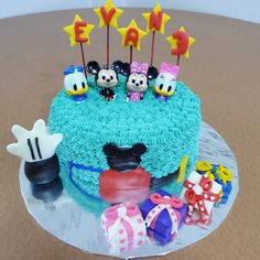 Life is too short, Eat Desserts: Mickey Mouse Cake