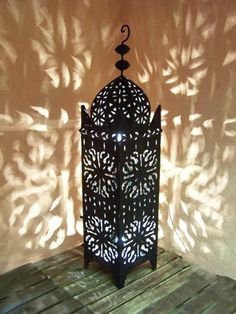 bougeoir deco photophore artisanat marocain oriental