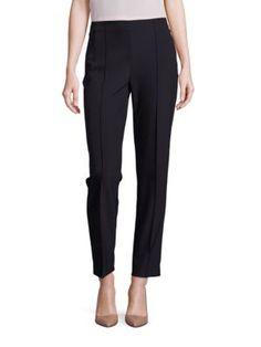 ESCADA Tuska Cropped Techno Pants. #escada #cloth #pants