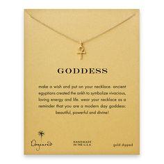 Goddess Ankh Necklace