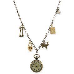 Charm Necklace Alice in Wonderland - Polyvore