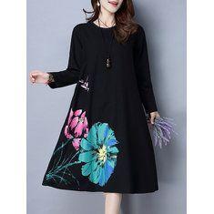 Vintage Embroidery Layered Irregular Hem Elegant Patchwork Women Dress Shopping Online - NewChic Mobile