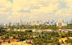 Olinda e ao fundo Recife - Pernambuco - Brasil