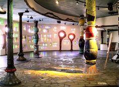 Hundertwasser mosaic details – Markthalle – Altenrhein, Switzerland   Mosaic Art Source