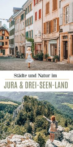 Drei zauberhafte Städte im Jura & Drei-Seen-Land + Ausflugstipps in die Natur (Schweiz) Swiss Travel, Hiking Routes, Reisen In Europa, Seen, Travel Companies, Weekend Trips, Travel Goals, Vacation Destinations, Where To Go