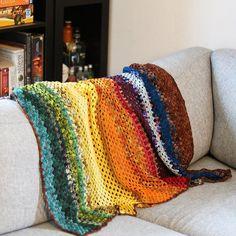 Ravelry: ingvildbysting's Granny stripe blanket