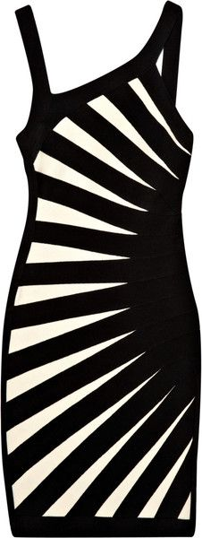 Herve Leger Asymmetric Bandage Dress--I just pinned the shoe's that go with this dress... #KILLEDIT