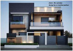 nice house interior dream homes House Outside Design, House Front Design, Small House Design, 3 Storey House Design, Bungalow House Design, Modern Bungalow, Best Modern House Design, Modern Exterior House Designs, Modern House Facades