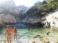 14 piscinas naturais - Calanque du Sugiton Marselha, França