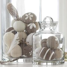 Use stones instead.... Less breakable.