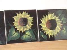 Set of 4 Ceramic Tile Coasters with by NiftyNikkisNikNaks on Etsy, $15.00