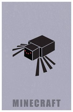 Minecraft Spider by Kurataki, via Flickr