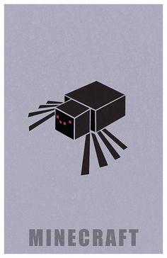 Minecraft Spider by Kurataki, via Flickr