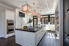 The kitchen design experts at HGTV.com take you on a tour of a classically-chic chef's kitchen designed by Tatiana Machado-Rosas.