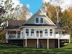 images about Lake Exterior on Pinterest   Cottage House    With many styles of home plans for Southern Living at House Plans and More  you will a floor plan design that fits your style for a perfect house