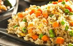 Asian Recipes, Healthy Recipes, Ethnic Recipes, Arroz Recipe, Easy Meal Prep, Easy Meals, Healthy Plate, Chinese Food, Fried Rice