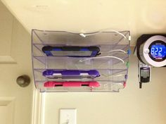 1000 images about charging station on pinterest Charger cord organizer diy