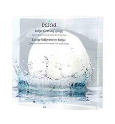 Must try - Boscia Sponge made from Konjac root