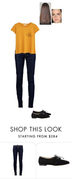 """Sem título #6486"" by gracebeckett on Polyvore featuring moda, Dsquared2, Sarah Flint e MANGO"