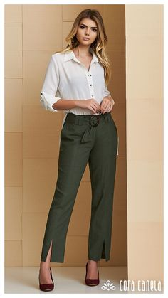 New Pin on Board: womensfashion Work Fashion, Cute Fashion, Fashion Pants, Fashion Outfits, Fashion Ideas, Business Outfits, Business Attire, Office Outfits, Classy Outfits