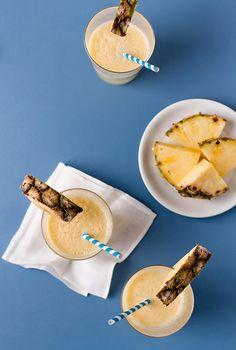 Pineapple Coconut Smoothie.