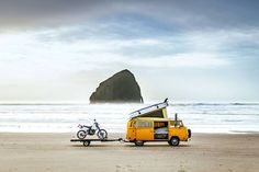 Discover the world's prettiest and most epic road trips in this excerpt from the book 'Hit the Road' – a chronicle of the road-tripping individuals who live life out of a van The Road, Beautiful World, Beautiful Places, Foster Huntington, Borealis Lights, Polar Night, Vans, Ways To Travel, West Coast