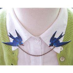 カラーピン/Blue+Swallow