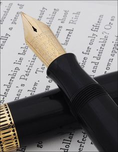 Vintage Pens, Pen Nib, Fountain Pen Ink, Barrel, Black, Style, Swag, Barrel Roll, Black People
