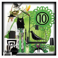"""""""Bird of Paradise"""" by bren-johnson ❤ liked on Polyvore featuring art"""