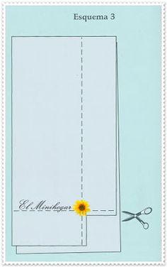 El Minihogar: CÓMO CONFECCIONAR UNA SÁBANA BAJERA INDIVIDUAL AJUSTABLE Fabric Crafts, Sewing Crafts, Tailoring Techniques, Pattern Drafting, Sewing Tutorials, Diy And Crafts, Notebook, Diagram, Diy Projects